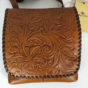 NWT Patricia Nash Granada Crossbody Bag